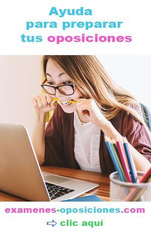 ayuda para estudiar y preparar tus oposiciones
