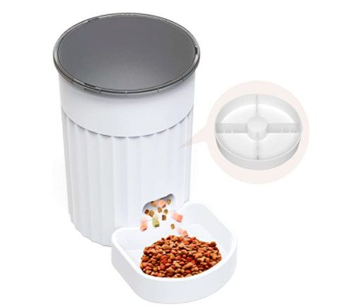 Dispensador de Comida para Perros y Gatos